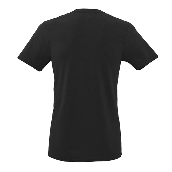 Back Mockup Piutre della T-shirt Linea Gol Nera