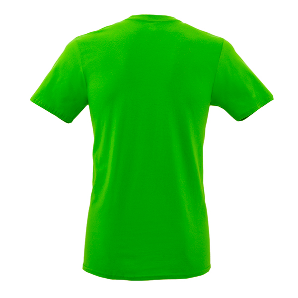 Back Mockup Piutre della T-shirt Gol Verde