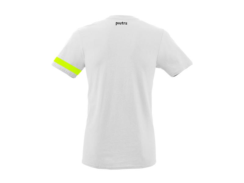 Back Mockup Piutre della T-shirt Linea Bomber Tiro