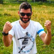 maglietta Piutre, T shirt piutre linea bomber esultanza