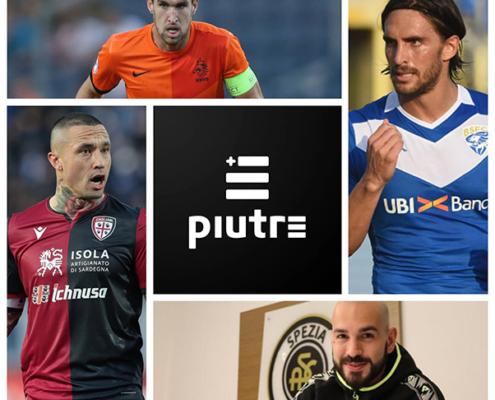 Collage calciatori di serie A al calciomercato