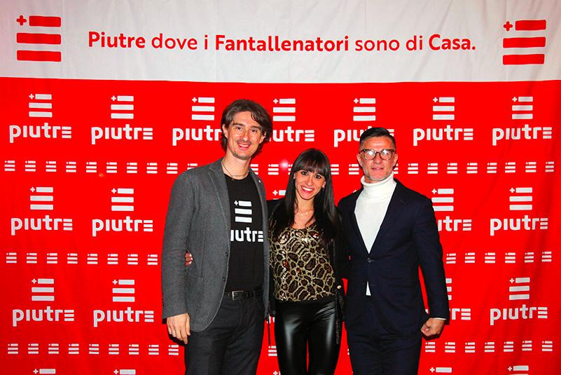 Tshirt Piutre, Benito Carbone, Rosanna Vitteri, Pietro Razzini, Piutre night, evento Parma, Golf Club Parma