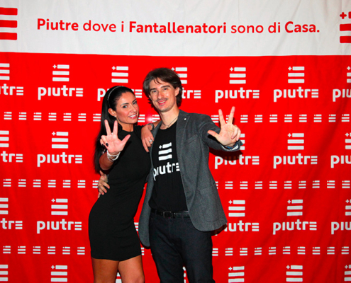 Tshirt Piutre, Monica Bertini, Pietro Razzini, Piutre night, evento Parma, Golf Club Parma