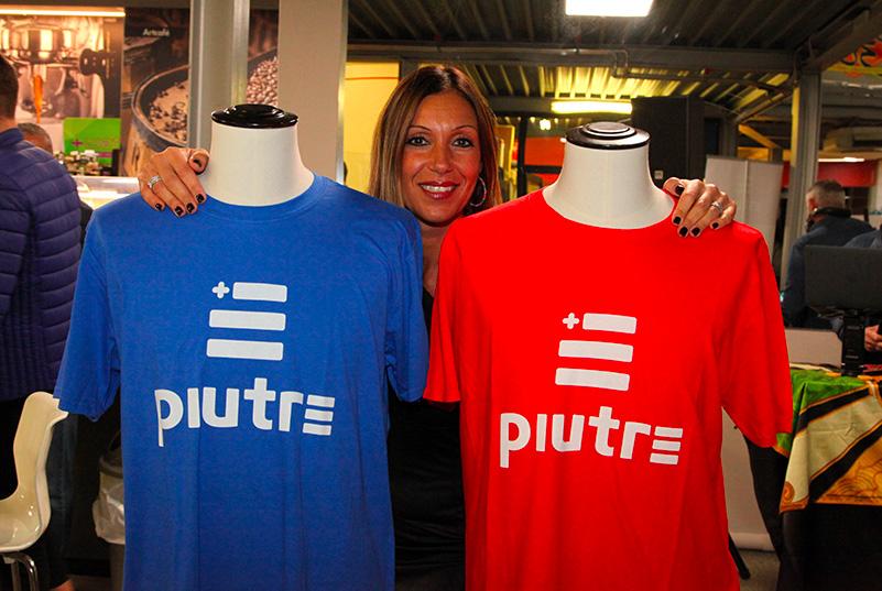 Magliette Piutre, evento Parma, PalaSprint, sponsor, palestra abbigliamento