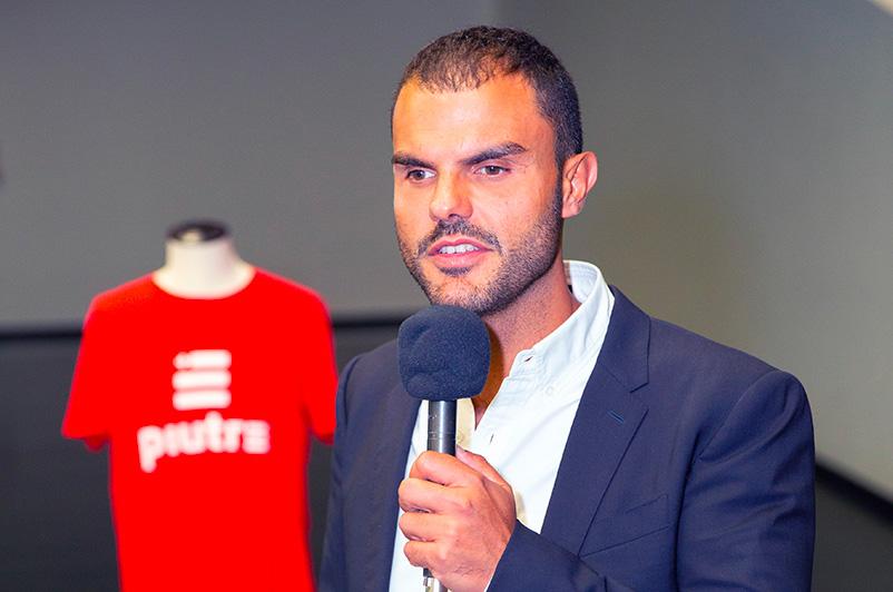 Tshirt Piutre, Daniele Cassioli, evento Parma, la cultura si fa sport, sponsor,
