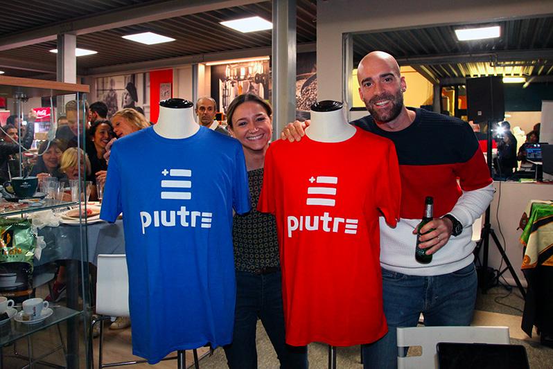Maglietta Piutre, evento Parma, PalaSprint, sponsor, palestra abbigliamento