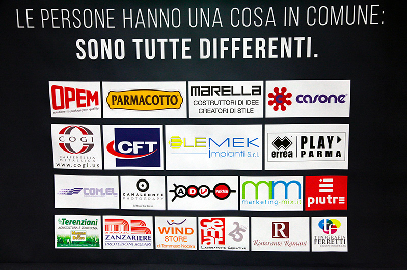 Tshirt Piutre, evento Parma, la cultura si fa sport, sponsor