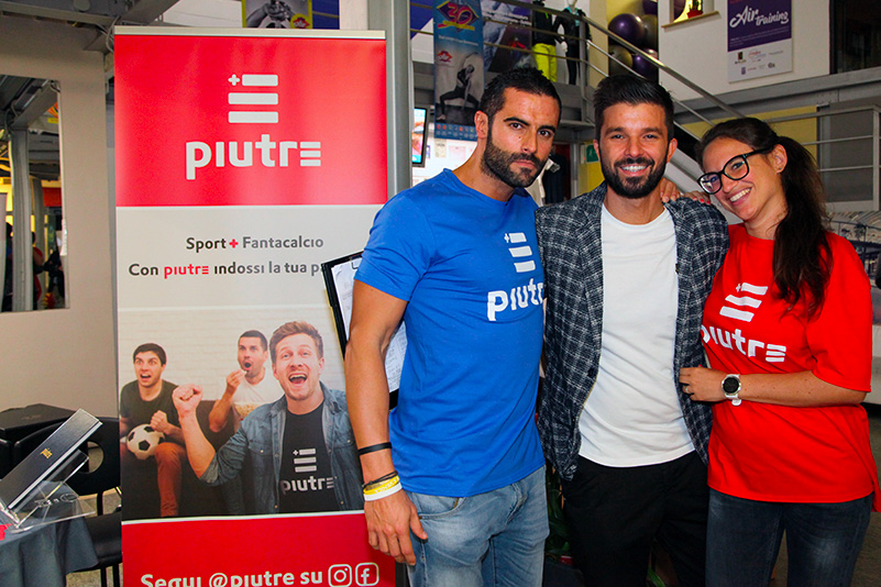 Tshirt Piutre, Luca Ovrezzi, evento Parma, PalaSprint, sponsor, palestra abbigliamento