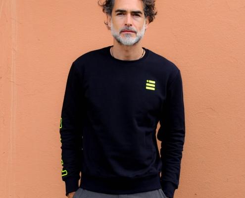 Sergio Múñiz indossa la felpa girocollo Piutre Fantacalcio