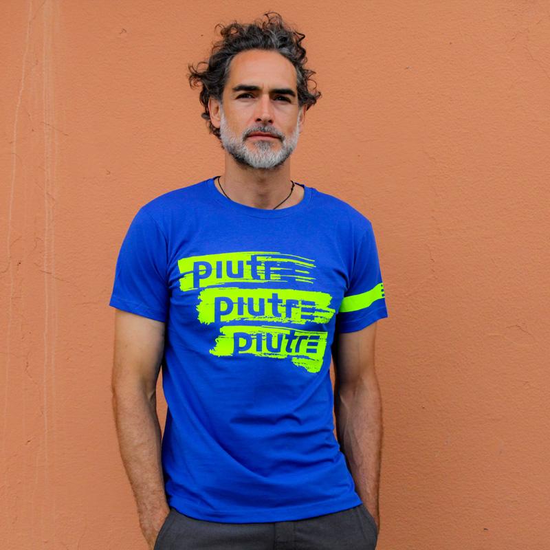 Sergio Múñiz indossa la t-shirt Piutre linea Gol Plus